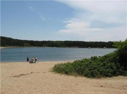 East Falmouth Cape Cod vacation rental - Beautiful Bayside Beach just an easy 1/10 mile walk away