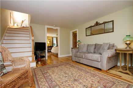 Orleans Cape Cod vacation rental - Updated living space with flat screen TV