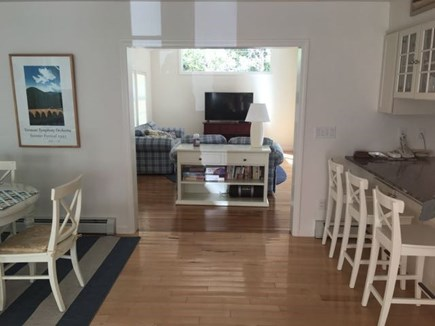 Eastham Cape Cod vacation rental - Looking into the family room