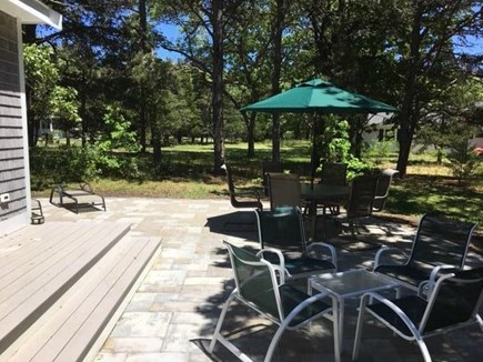 Eastham Cape Cod vacation rental - Backyard patio
