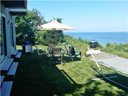 Plymouth MA vacation rental - Back yard Facing North
