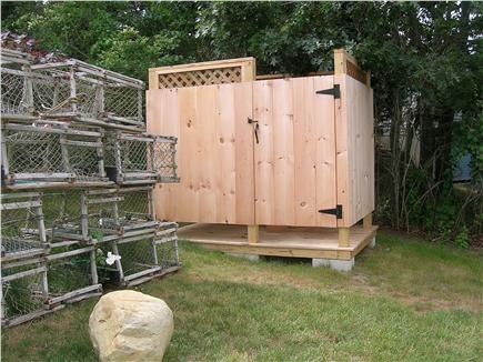 Chatham Cape Cod vacation rental - Outside shower