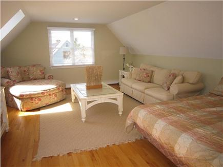 East Orleans Cape Cod vacation rental - Guest Bedroom (2nd Floor) with Seating area and queen bed