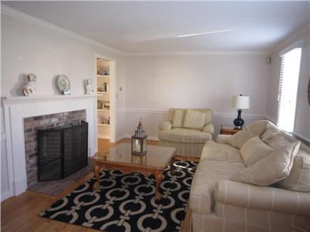 East Orleans Cape Cod vacation rental - Formal living space w/ TV