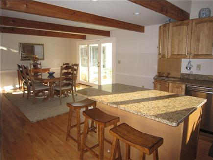 East Orleans Cape Cod vacation rental - Open kitchen and dining space