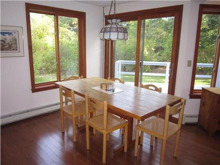 East Orleans Cape Cod vacation rental - Dining area off kitchen and living area