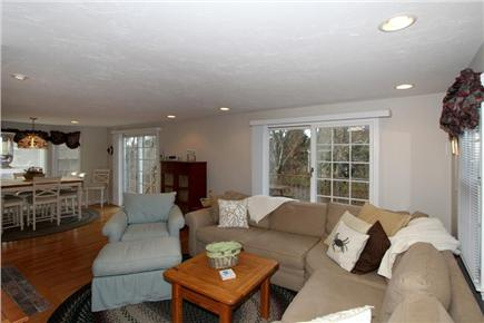 Brewster Cape Cod vacation rental - Living Room (alternate view) from entrance