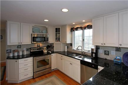 Brewster Cape Cod vacation rental - Equipped kitchen with granite countertops & stainless apppliances