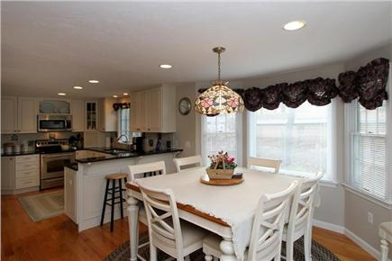 Brewster Cape Cod vacation rental - Dining area leading to kitchen