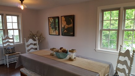 Barnstable Harbor Cape Cod vacation rental - Dining room