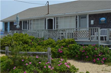 West Dennis Cape Cod vacation rental - A classic Cape Cod beach home made up of 2 separate units