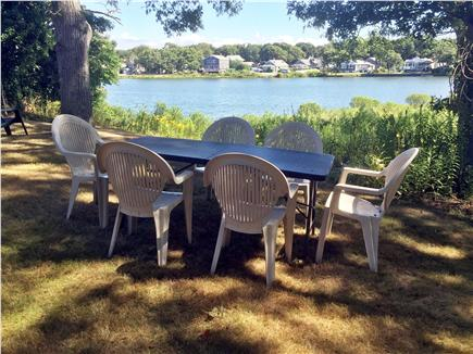 Falmouth Cape Cod vacation rental - Dining overlooking Little Pond