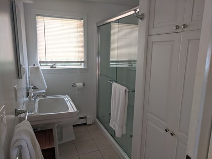 Falmouth Cape Cod vacation rental - Modern bathroom with plenty of natural light