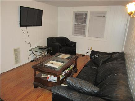 Wareham MA vacation rental - Living Room is set up for WIFI