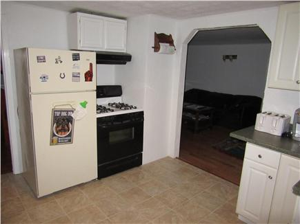 Wareham MA vacation rental - Kitchen is cozy with dining room off the kitchen