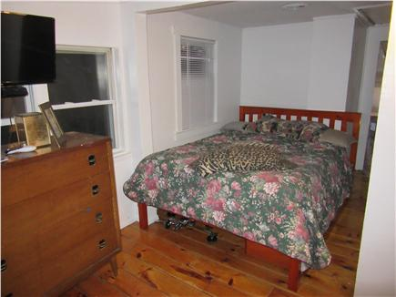 Wareham MA vacation rental - Queen bedroom has wonderful views of the beach