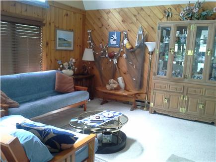 Wellfleet Cape Cod vacation rental - Spacious living area with multiple couches and rocker
