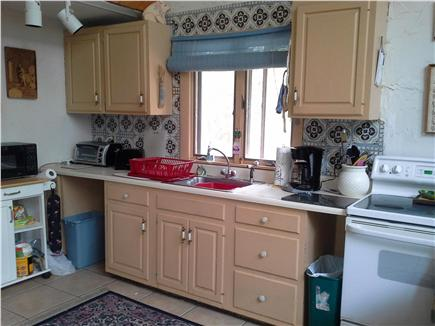 Wellfleet Cape Cod vacation rental - Kitchen is fullt stocked, lobster pot included, Microwave, etc.