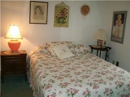 Wellfleet Cape Cod vacation rental - Master bedroom has queen bed, bureau and dressing table.