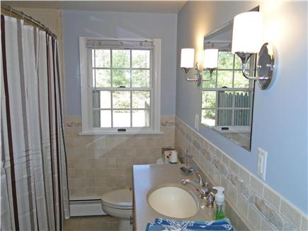 Brewster Cape Cod vacation rental - Bathroom on the first floor, with tub