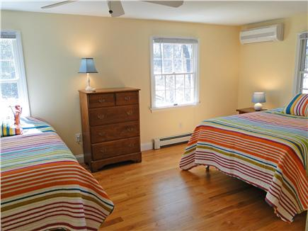 Brewster Cape Cod vacation rental - First floor bedroom with two full beds