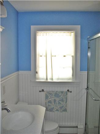 West Dennis Cape Cod vacation rental - Main bathroom is bright and clean