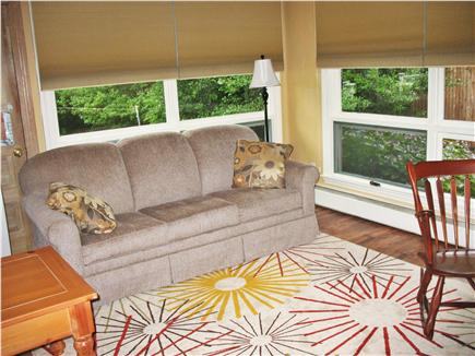 West Dennis Cape Cod vacation rental - Den has pull-out queen sofa, flatscreen TV and blue-ray player