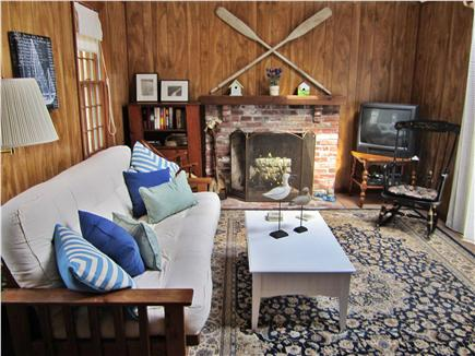 Eastham Cape Cod vacation rental - Separate fireplace room