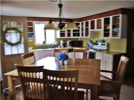 Eastham Cape Cod vacation rental - Eat-in kitchen with ounter height dining table