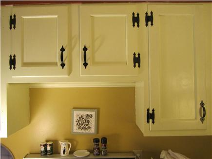 Eastham Cape Cod vacation rental - Kitchen cabinets with freshly painted doors