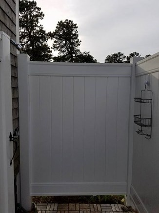 South Chatham Cape Cod vacation rental - Huge, updated outdoor shower with hot water