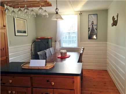 South Chatham Cape Cod vacation rental - Separate dining area