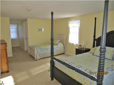 Dennis Cape Cod vacation rental - 2nd floor Bedroom w/ a Queen and Twin bed