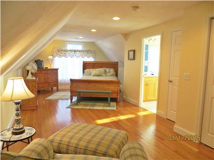 Dennis Cape Cod vacation rental - Private Bedroom Suite over garage w/full bath
