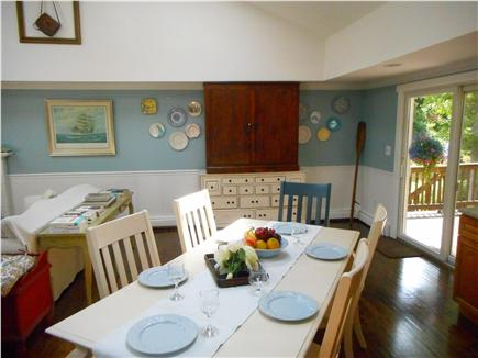 Centerville, Barnstable Centerville vacation rental - Eating area.