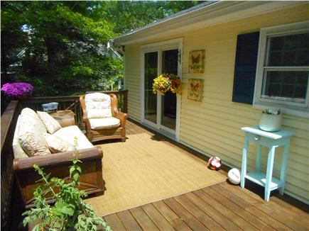 Centerville, Barnstable Centerville vacation rental - Master Bedroom walk-out to deck.