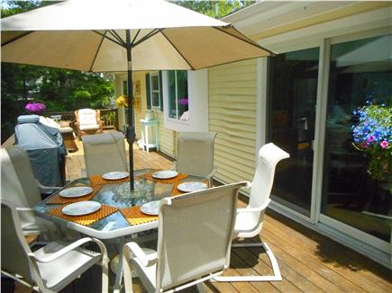Centerville, Barnstable Centerville vacation rental - Kitchen walk-out to deck.