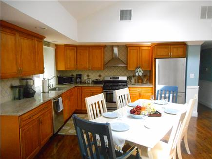 Centerville, Barnstable Centerville vacation rental - Stainless Steel appliances and marble countertops.