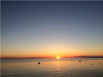 Eastham Cape Cod vacation rental - Amazing sunset on the bayside