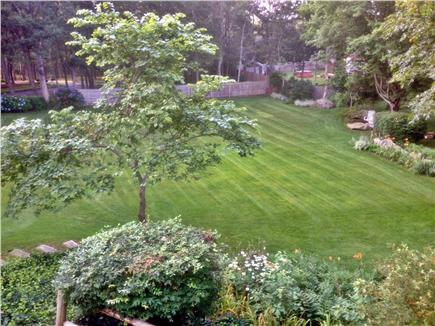 Dennis Cape Cod vacation rental - Large side yard/play field