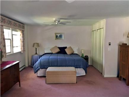 Dennis Cape Cod vacation rental - First floor master with king and adjoining sunroom