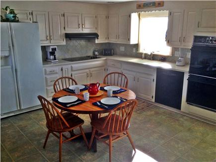 Dennis Cape Cod vacation rental - Large eat-in, fully equipped kitchen