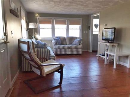 Manomet, White Horse Beach Manomet vacation rental - Living room, flat screen TV, Wireless Internet, DVD player.