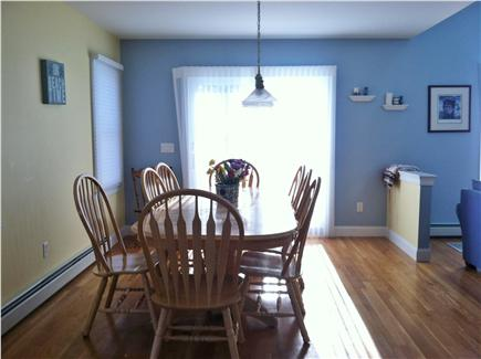 Popponesset, Mashpee Cape Cod vacation rental - Large Dining Area with access to back deck