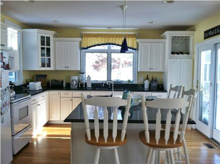 Popponesset, Mashpee Cape Cod vacation rental - Sunny Kitchen with Granite Countertops