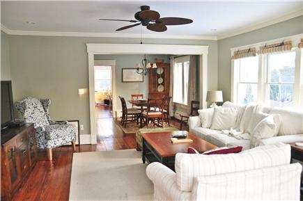 Chatham Cape Cod vacation rental - Open floor plan. Livingroom - diningroom to kitchen.