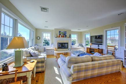 Chatham Cape Cod vacation rental - Open and Sunny Living Area