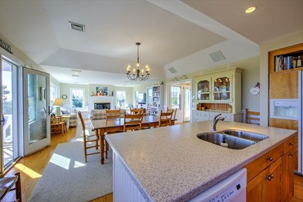 Chatham Cape Cod vacation rental - Kitchen to Living Area