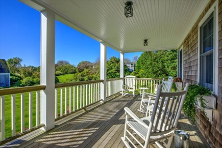 Chatham Cape Cod vacation rental - Gracious Front Porch