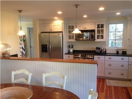 Brewster Cape Cod vacation rental - Kitchen and dining area
